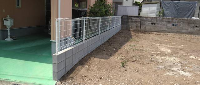 ☆ 熊本市境界ブロック工事 ☆